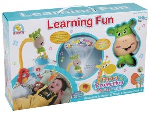 Carusel  copii learning fun Girafa cu proiector si telecomanda1