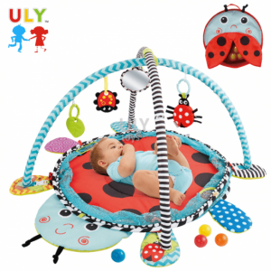 Saltea activitati bebe si centru de joaca cu bile 3 in 11