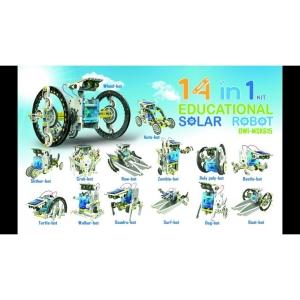 Kit Solar pentru Copii 14 in 1 Robotel11