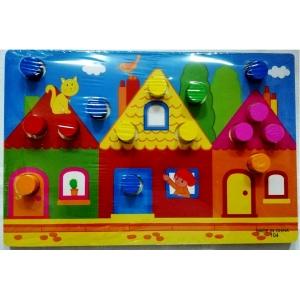 Set 3 planse Joc din lemn sa potrivim culorile6