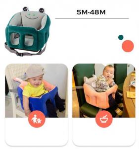 Scaun bebelusi portabil din plus - Inaltator scaun din plus pentru Bebe8