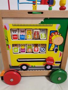 Antepremergator din Lemn Montessori 6 in 110