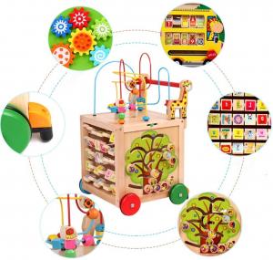 Antepremergator din Lemn Montessori 6 in 11