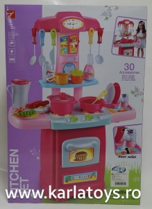 Bucatarie de jucarie copii Cook Fun 30 piese5