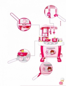 Bucatarie Electronica Smart Little Chef Copii 31 piese2