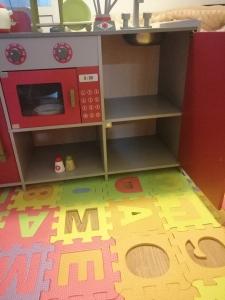 Bucatarie de Lemn copii Dubla European Kitchen cu Accesorii19