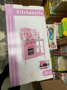 Bucatarie din Lemn cu Sunete si Lumini Kitchenette3