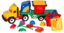 Camion mare cu accesorii pentru nisip -Camion cu accesorii nisip pentru copii3