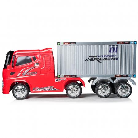 Camion Tir Electric pentru copii 4x4 cu telecomanda [7]