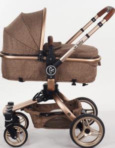 Carucior copii Transformabil 2 in 1 360' Baby Care Șasiu aluminiu1