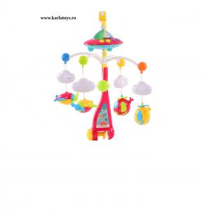 Carusel pentru copii cu avioane si elicoptere Dream world [0]