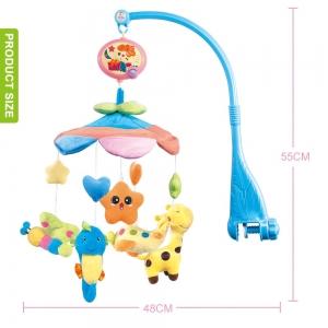 Carusel pentru copii musical mobile - jucarii din plus3