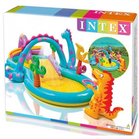 Centru de joaca gonflabil si piscina Intex  Dinoland [1]
