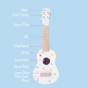Chitara Copii din Lemn Onshine5