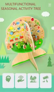 Joc de lemn Educatia Montessorii Pomul Intelepciunii3