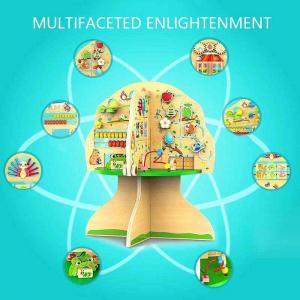 Joc de lemn Educatia Montessorii Pomul Intelepciunii1