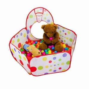 Cort de joaca cu tunel pentru copii 3 in 13