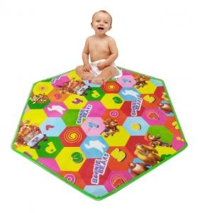Covoras Hexagonal cu 2 fete- Covor Tarc copii [1]