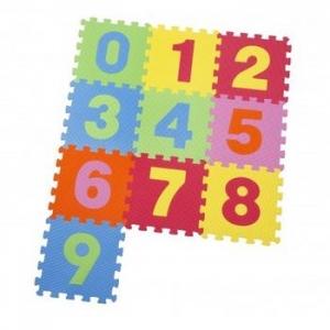 Covoras puzzle cu cifre pentru copii 3 set4