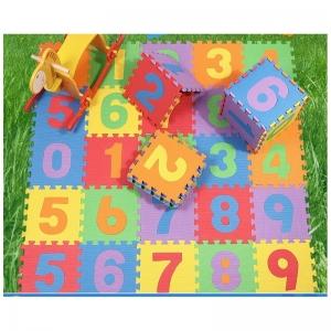 Covoras puzzle cu cifre pentru copii 3 set1