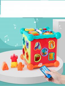 Centru Interactiv Bebe Musical box cu Telecomanda0
