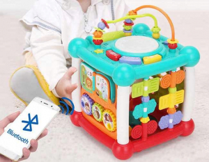 Cub interactiv muzical bebe cu bluetooth Melody [1]