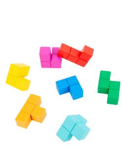 Cuburi lemn de construit 3D Puzzle7