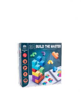 Cuburi lemn de construit 3D Puzzle9