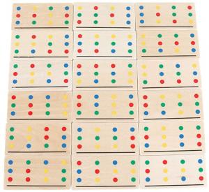 Joc Lemn Asociere Color Match7