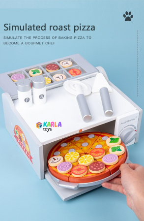 Cuptor de Pizza din Lemn cu Accesorii [4]