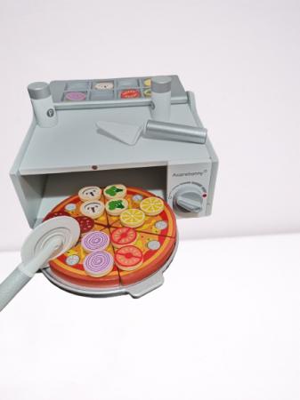 Cuptor de Pizza din Lemn cu Accesorii [15]