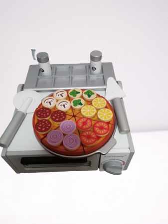 Cuptor de Pizza din Lemn cu Accesorii [0]