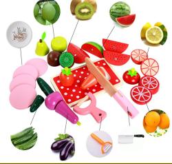 Set de legume si fructe de feliat cu magnet cu cutie3