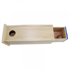 Joc Lemn  Educatia Montessori Cutia Permanentei cu sertar2