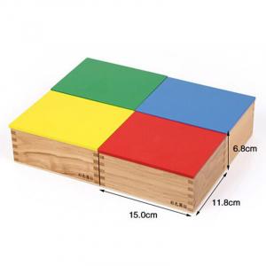 Joc Lemn Montessori Cilindrii Knobless - Joc de Lemn Educatie Montessori.6