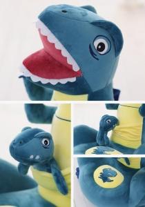 Fotoliu plus Dinozaur Mama si puiul1