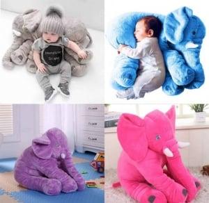 Jucarie Plus si Pernuta Bebe Elefant0