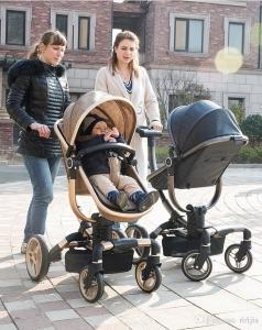 Carucior copii Transformabil 2 in 1 rotativ  360' Baby Care9