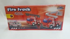 Set Masina de Pompieri cu Ambulanta  sunete si lumni [1]
