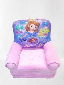 Fotoliu extensibil din plus pentru copii Sofia 1  3 parti 115 cm [2]