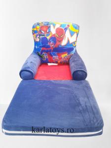 Fotoliu extensibil pentru copii din plus Spiderman 115 cm [1]