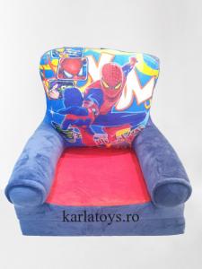 Fotoliu extensibil pentru copii din plus Spiderman 115 cm [0]