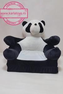 Fotoliu Extensibil Usuletu Panda din plus 3D1