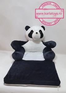 Fotoliu Extensibil Usuletu Panda din plus 3D0