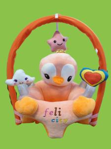 Fotoliu plus bebe sit up cu Bara jucarii -Fotoliu plus bebe Feli city animale cu arcada0
