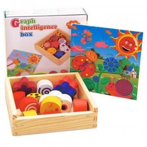 Puzzle din Lemn - Graph Intelligence Box0
