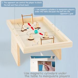 Masa de Fotbal din lemn Joc interactiv copii4