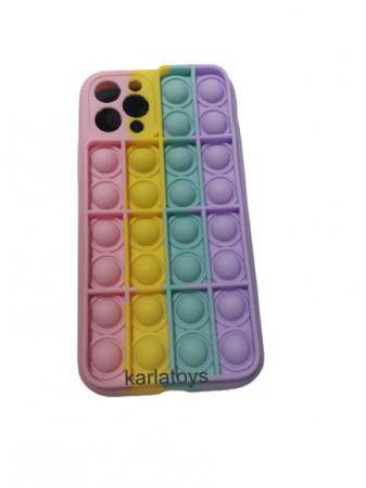 Husa de Telefon Multicolora Pop It Din silicon [0]