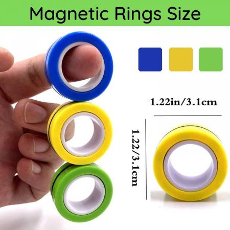 Set 3 buc Joc antistres Inel Magnetic - Magnetic Ring17