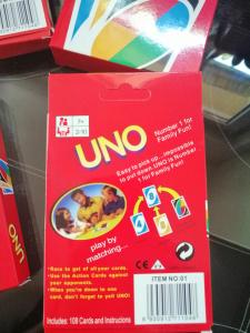 Joc de Carti UNO - Joc de Societate cu carti UNO3